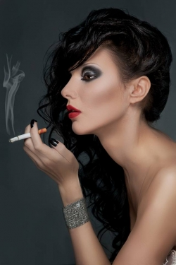 Smoking Beauty Fotosession